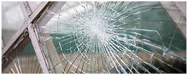 Middlesbrough Smashed Glass